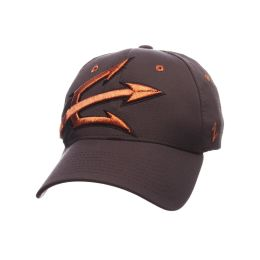 f811b6c2c63 Arizona State Sun Devils Zephyr ZHS Z-fit Stretch Fit Hat-Gray