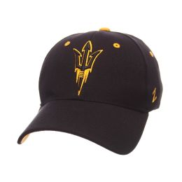 b2ec8964aaf Arizona State Sun Devils Zephyr ZHS Stretch Fit Hat-Black Zwool