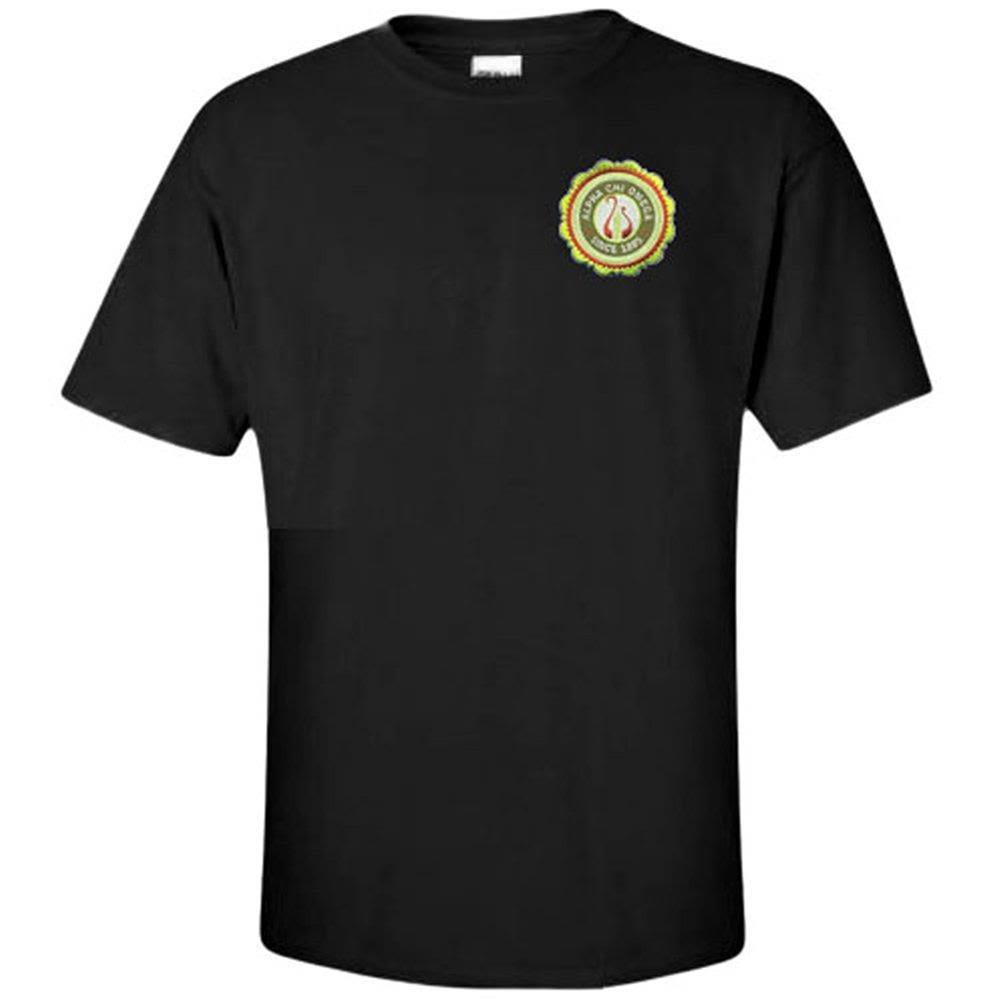 Alpha Chi Omega Crest Patch Seal Shirt