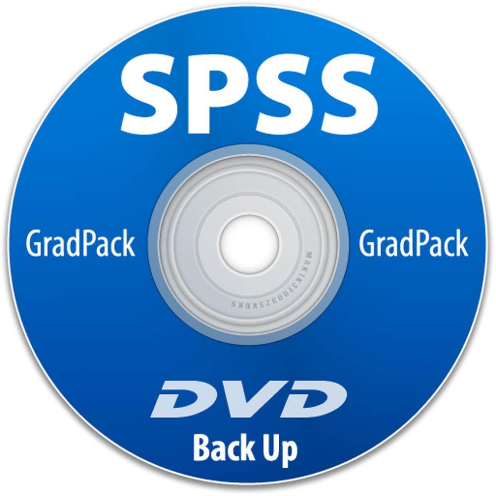 IBM SPSS Statistics Premium Grad Pack 25 0 Backup DVD for