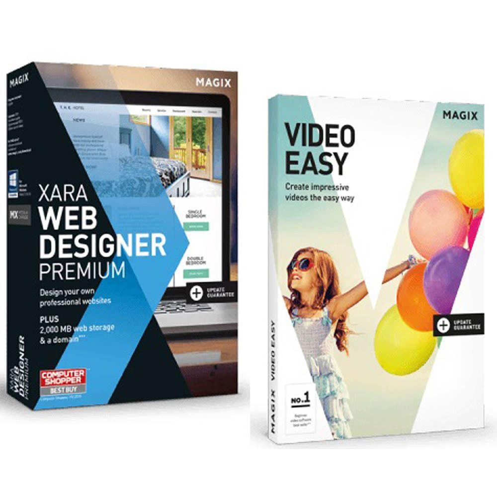 MAGIX Xara Web Designer Premium Video Edition for Windows