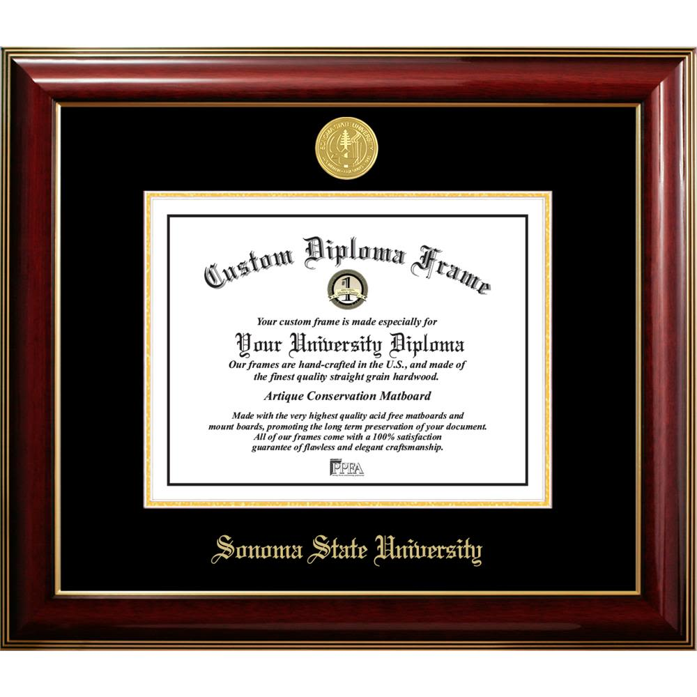 Sonoma State University Classic Diploma Frame
