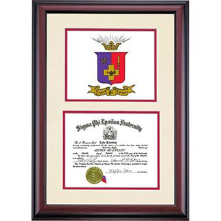 Certificate Frames