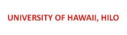 University of Hawai'i' Hilo