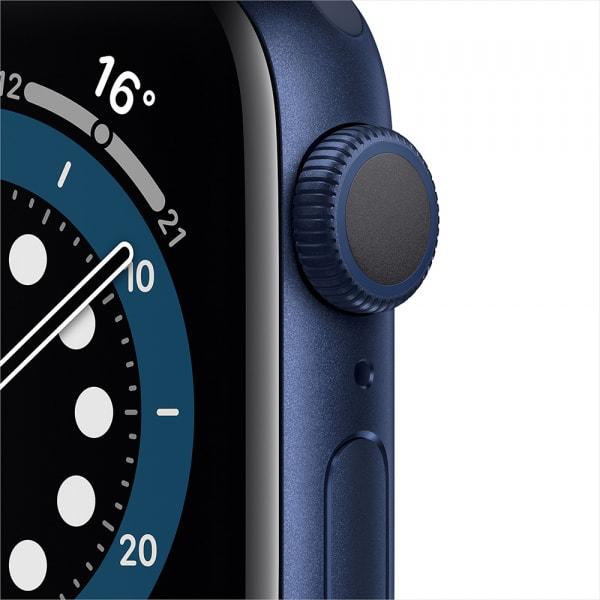 Apple Watch Series 6 GPS 44mm Blue Alum Case Deep Navy Sport Band 1