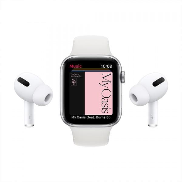 Apple Watch Series 6 GPS 44mm Blue Alum Case Deep Navy Sport Band 7