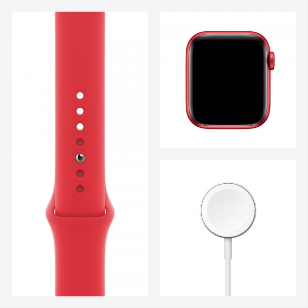Apple Watch Series 6 GPS 44mm PRODUCT(RED) Alum Case PRODUCT(RED) Sport Band 6