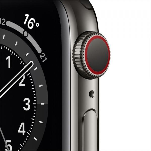 Apple Watch Series 6 GPS + Cellular 44mm Graphite S. Steel Case Graphite Milanese Loop (EOL) 1