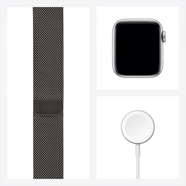 Apple Watch Series 6 GPS + Cellular 44mm Graphite S. Steel Case Graphite Milanese Loop (EOL) 6