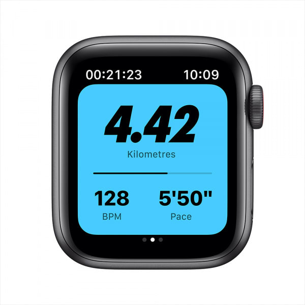 Apple Watch Nike SE GPS + Cellular 40mm Space Gray Alum Case Anthracite/Black Nike Sport Band (EOL) 2