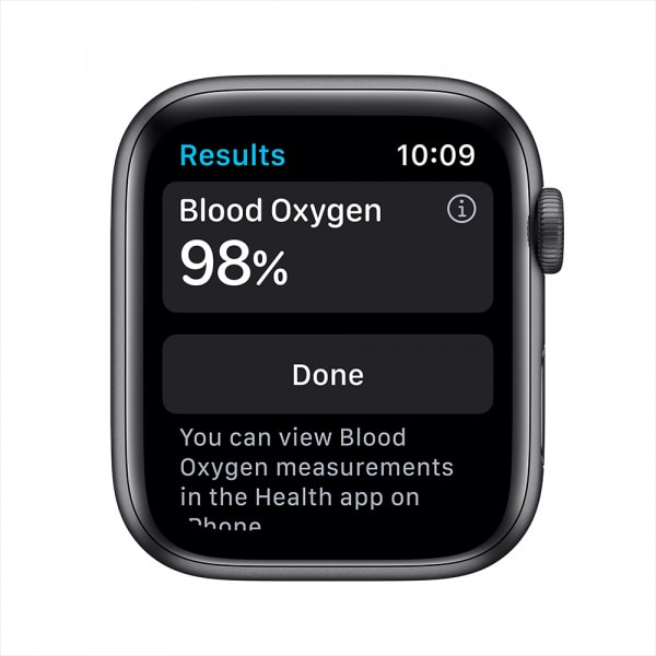 Apple Watch Nike Series 6 GPS 44mm Space Gray Alum Case Anthracite/Black Nike Sport Band 2
