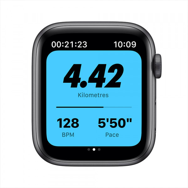 Apple Watch Nike Series 6 GPS 44mm Space Gray Alum Case Anthracite/Black Nike Sport Band 3