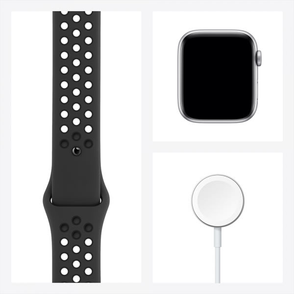 Apple Watch Nike Series 6 GPS 44mm Space Gray Alum Case Anthracite/Black Nike Sport Band 6