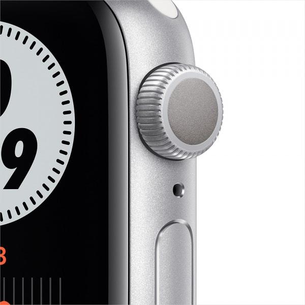 Apple Watch Nike Series 6 GPS 44mm Silver Alum Case Pure Platinum/Black Nike Sport Band 1