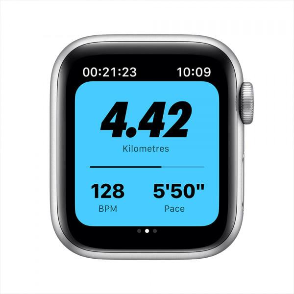 Apple Watch Nike Series 6 GPS 44mm Silver Alum Case Pure Platinum/Black Nike Sport Band 3