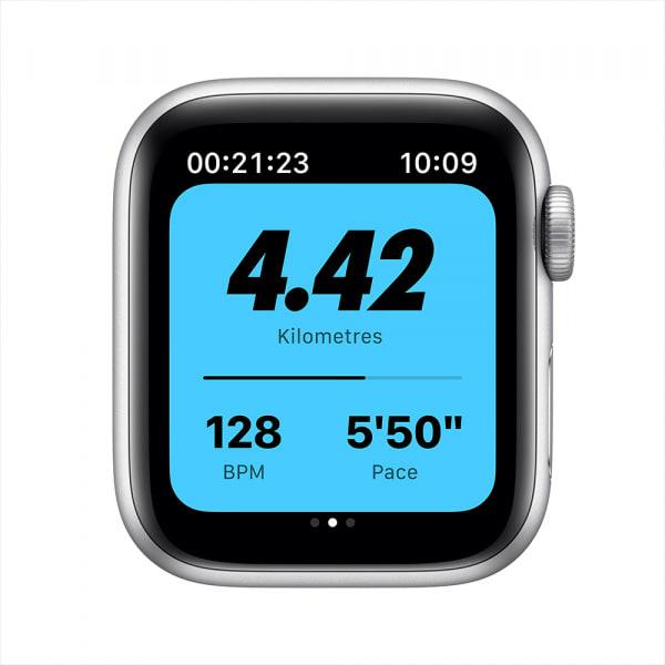 Apple Watch Nike SE GPS 40mm Silver Alum Case Pure Platinum/Black Nike Sport Band (EOL) 2