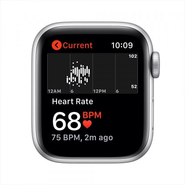 Apple Watch Nike SE GPS 40mm Silver Alum Case Pure Platinum/Black Nike Sport Band (EOL) 3
