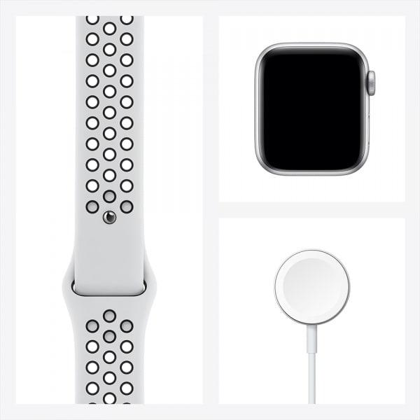 Apple Watch Nike SE GPS 40mm Silver Alum Case Pure Platinum/Black Nike Sport Band (EOL) 7