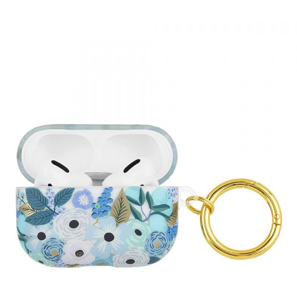 Rifle Paper Co. Airpods Pro Garden Party Blue 1