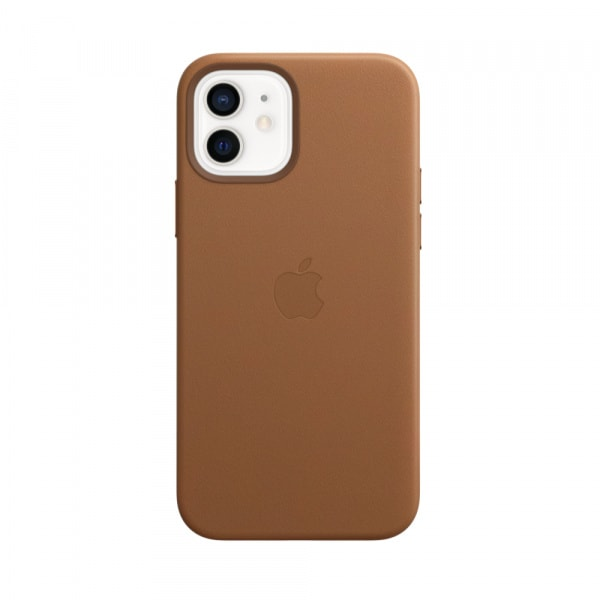 Apple iPhone 12 | 12 Pro Leather Case with MagSafe - Saddle Brown (EOL) 0
