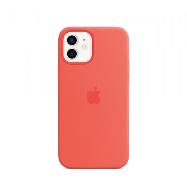 Apple iPhone 12 | 12 Pro Silicone Case with MagSafe - Pink Citrus (EOL) 0