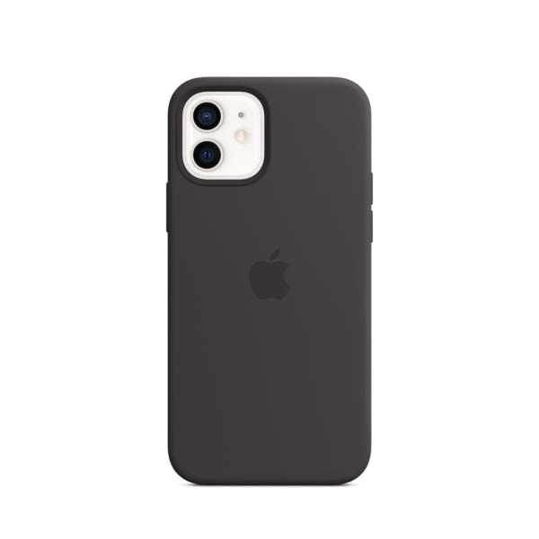 Apple iPhone 12 | 12 Pro Silicone Case with MagSafe - Black (EOL) 0