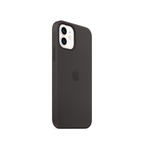 Apple iPhone 12 | 12 Pro Silicone Case with MagSafe - Black (EOL) 1