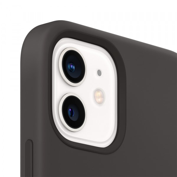 Apple iPhone 12 | 12 Pro Silicone Case with MagSafe - Black (EOL) 3