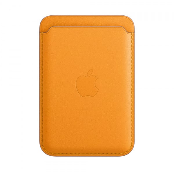 Apple iPhone Leather Wallet with MagSafe - California Poppy (EOL) 0