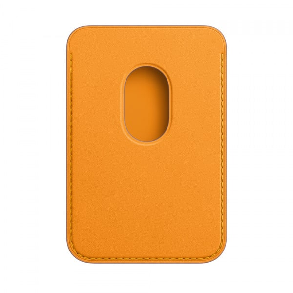 Apple iPhone Leather Wallet with MagSafe - California Poppy (EOL) 1