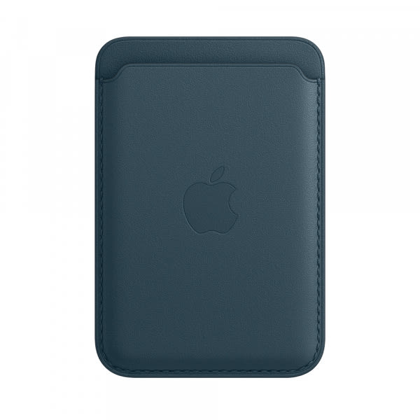 Apple iPhone Leather Wallet with MagSafe - Baltic Blue (EOL) 0