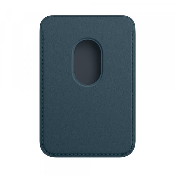 Apple iPhone Leather Wallet with MagSafe - Baltic Blue (EOL) 1