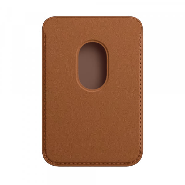 Apple iPhone Leather Wallet with MagSafe - Saddle Brown (EOL) 1