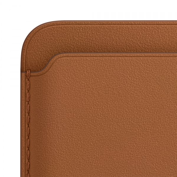 Apple iPhone Leather Wallet with MagSafe - Saddle Brown (EOL) 2
