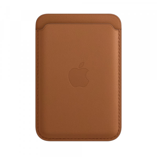 Apple iPhone Leather Wallet with MagSafe - Saddle Brown (EOL) 0