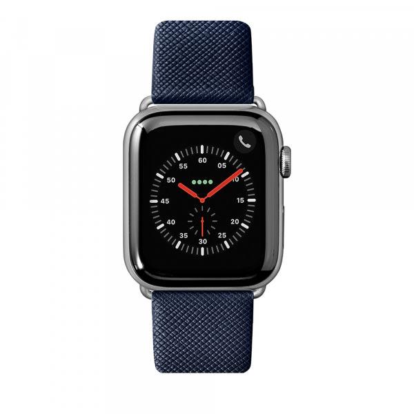 LAUT Strap Prestige for Apple Watch 42/44mm Blue 0