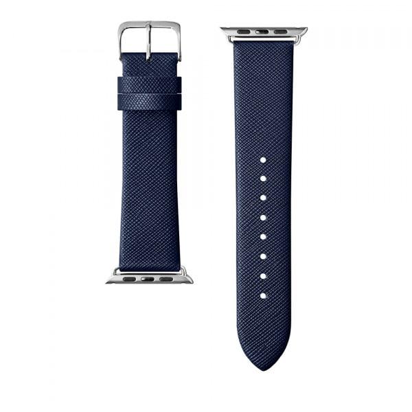 LAUT Strap Prestige for Apple Watch 42/44mm Blue 1