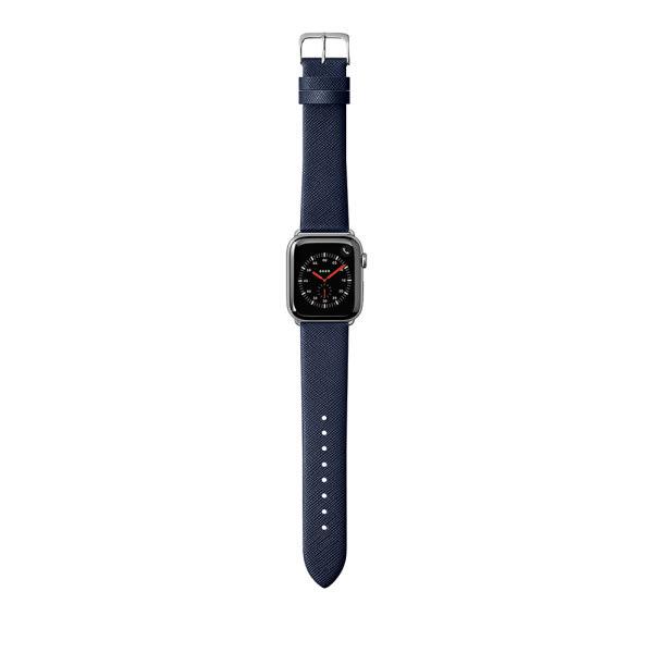 LAUT Strap Prestige for Apple Watch 42/44mm Blue 2