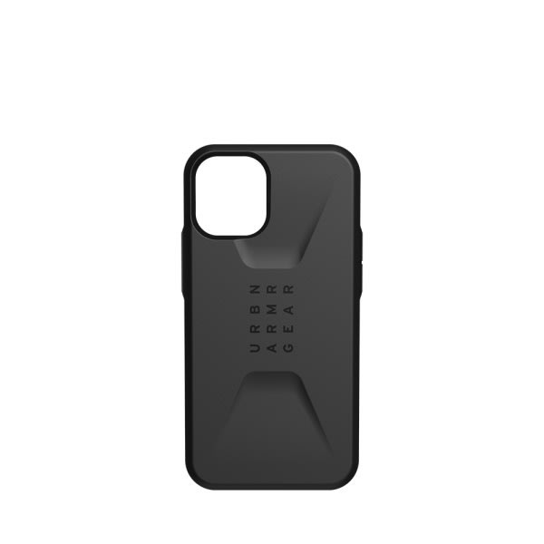 UAG iPh 12 Mini Civilian- Black 2