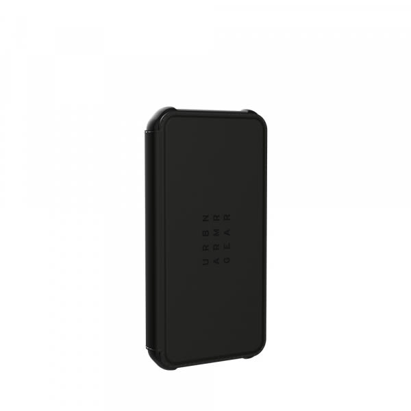 UAG iPh 12 Mini Metropolis-  Black PU 3