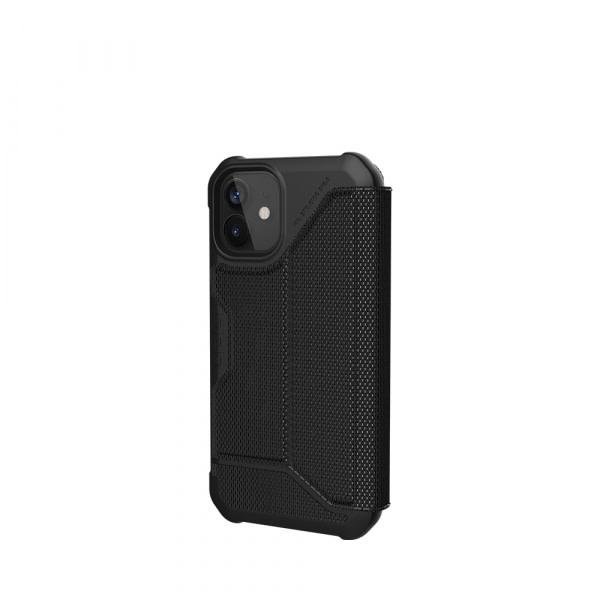 UAG iPh 12 Mini Metropolis-  Kevlar Black 6
