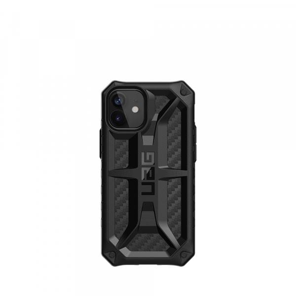 UAG iPh 12 Mini Monarch- Carbon Fiber 1