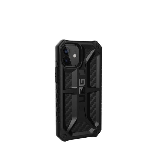 UAG iPh 12 Mini Monarch- Carbon Fiber 3