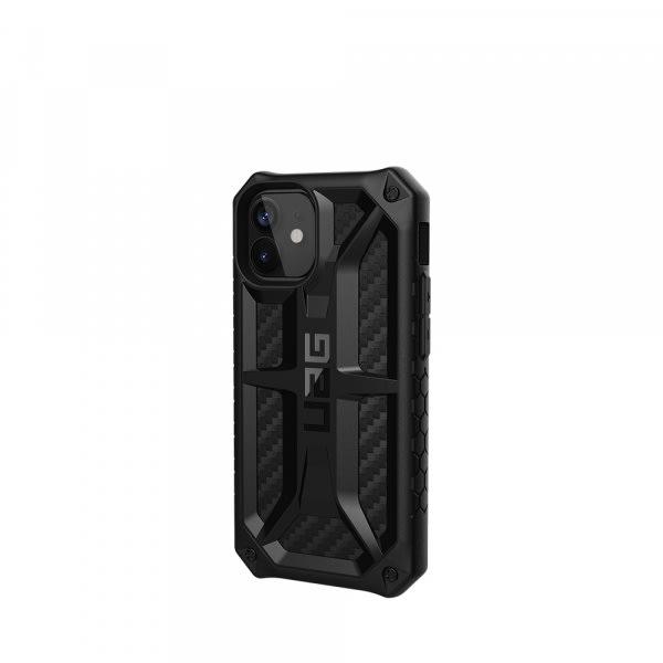 UAG iPh 12 Mini Monarch- Carbon Fiber 5