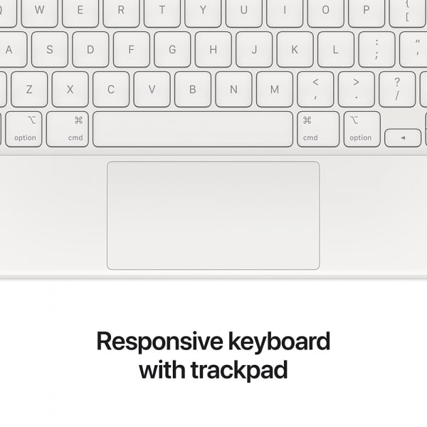 Apple Magic Keyboard iPad Pro 11 (3rd Gen)/iPad Air (4th Gen) US English White 4