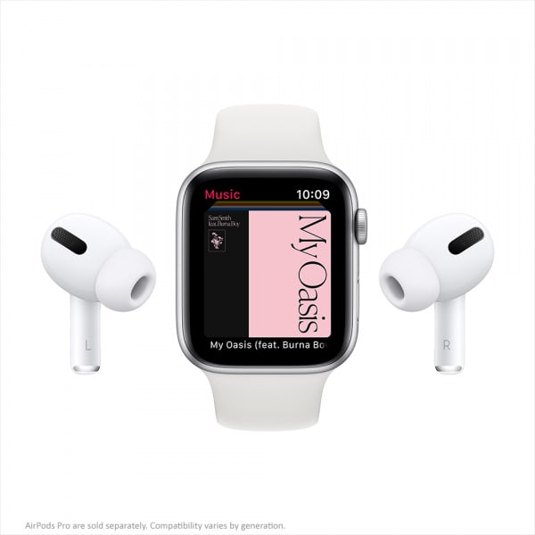 Apple Watch Series 6 GPS + Cellular 44mm Gold S. Steel Case Deep Navy Sport Band 7