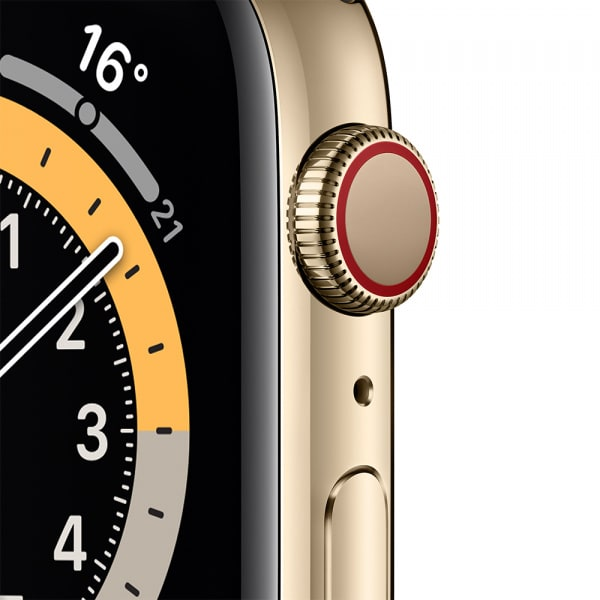Apple Watch Series 6 GPS + Cellular 44mm Gold S. Steel Case Deep Navy Sport Band 1