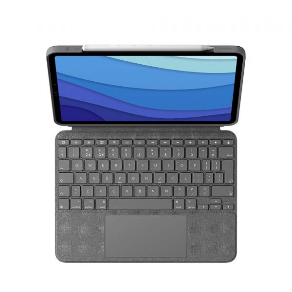 Logitech iPad Pro 11 Combo Touch KB Case 1/2/3 Gen - Black 0
