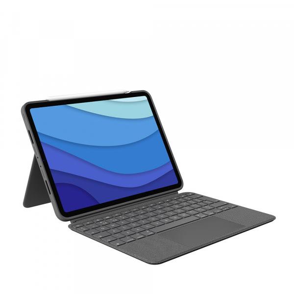 Logitech iPad Pro 11 Combo Touch KB Case 1/2/3 Gen - Black 2