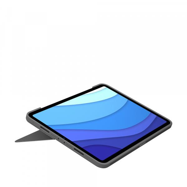 Logitech iPad Pro 11 Combo Touch KB Case 1/2/3 Gen - Black 3